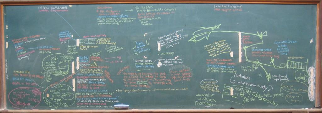 1/2 life blackboard